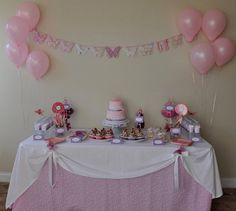 """Photo 1 of 13: Pink and Purple Sweet Butterfly Party / Birthday """"Madelyn's First Birthday!"""" 