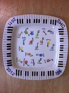 Fingerprint  musical notes