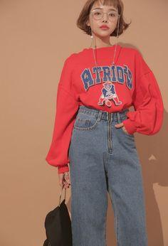 hazy back pocket denim pants #fashiondrawings