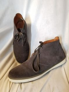 Vince mens shoes sz 10 US 44 EUR Blake chukka sneaker ankle gray suede italy | Clothing, Shoes & Accessories, Men's Shoes, Casual | eBay!