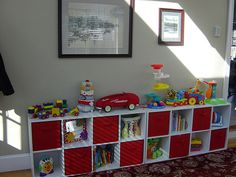 Storage for the playroom?