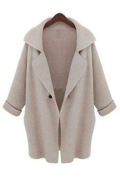 Angora sweater coat(3 colors)_Coats_CLOTHING_Voguec Shop