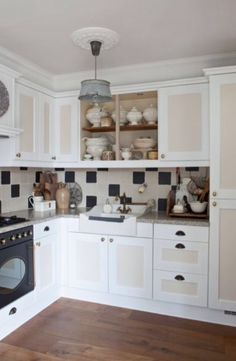 "This kitchen is from our feature ""Timeless Beauty"""