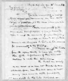 Andrew Jackson Papers, Butler, Robert | Library of Congress