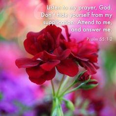 Psalm 55:1-2