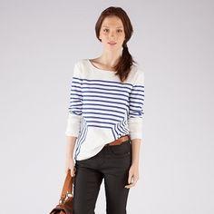 Cotton T-shirt mariniere