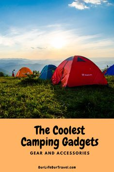 The Ultimate Hiking Gear List: Cool Gadgets Hiking Gear List, Hiking Tips, Camping And Hiking, Camping Life, Rv Travel, Travel Guides, Travel Tips, Travel Info, Travel Hacks