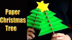 ORIGAMI CHRISTMAS TREE. https://www.youtube.com/watch?v=QF0W76nd1Ic