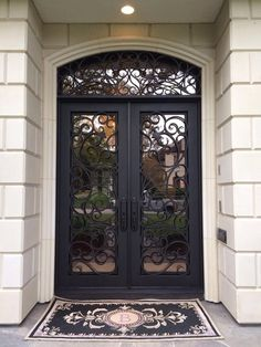 16 Ideas For Steel Front Door Entrance Wrought Iron