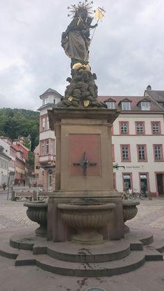 Heidelberg Statue Of Liberty, Decoration, Modern, Travel, Germany, Statue Of Liberty Facts, Decor, Trendy Tree, Viajes