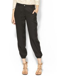 Hive & Honey Military Twill Slouchy Pant