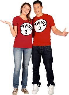 T-Shirts-thing 1 and thing 2