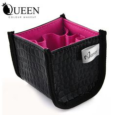 Item Type: Makeup Brush Material: pu Quantity: 1 Size: 8.5*8*7.5 Handle Material: Plastic Brush Material: Goat Hair Used With: Sets & Kits Item Type: Makeup Brush holes: 8holes use: brush holder color