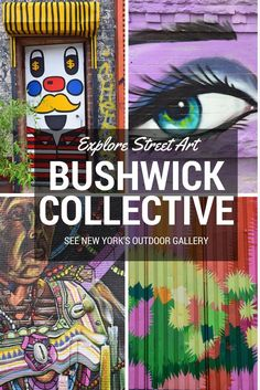 Explore street art in Bushwick Brooklyn. What to do in NYC!
