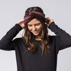 the Arizona - Make a statement with our chunky knitted headband,'the Arizona'. These bold designs will keep you ahead of the trend all year long.