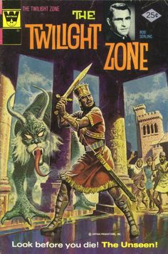 The Twilight Zone Comic #65 Publisher: Gold Key Comics Date: August 1975