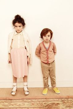These cuties have the best Wes Anderson style.