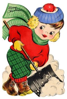 shoveling snow boy   Flickr - Photo Sharing!
