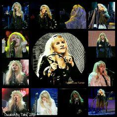 Stevie Nicks 24 Karat Gold Tour, 2016 Collage Created By Tisha 12/08/16