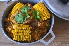 This quintessential Puerto Rican dish is the perfect one pot dish for family, friends, or a little of both. Everyone loves arroz con pollo!
