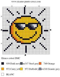 Sonne - Vorlage hama beads