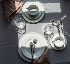 Lyngby Porcelæn table set up by @marcelkaaa