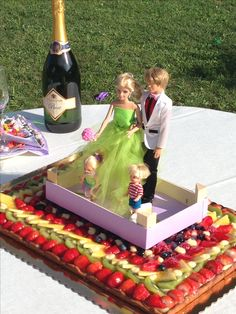 #CakeTopper handmade...#barbie,#ken,#tommy,#shelly