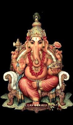 Bhagwan Shree Ganesh Ji Ki Photo Wallpaper and HD Pictures Lord Ganesha Paintings, Ganesha Art, Shiva Art, Hindu Art, Ganesha Pictures, Ganesh Images, Orisha, Ganesh Tattoo, Lord Murugan Wallpapers