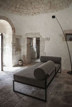 Luca Zanaroli's Casa JMG in Polignano preserves the precise and recognizible architectural language of Apulian residences, which characterize the rural lanscape of the area and inspired at the same...