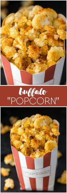 Buffalo Popcorn - A tasty, guilt-free, low carb snack that's so easy to make you don't really need a recipe! Create different flavours by switching out the seasoning.