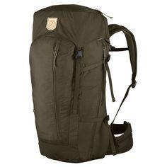 Fjallraven Abisko Hike Backpack Dark Olive One Size 35l Backpack, Backpack Bags, Fjallraven, Backpack Online, Jack Wolfskin, Coton Biologique, Trekking, Organic Cotton, Hiking