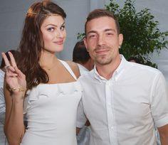 Isabeli Fontana e Di Ferrero no réveillon de 2016 em Miami