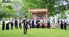 Independence Day celebrations at the Genesee Country Village & Museum Monday July 4 Ruby Foote Photo