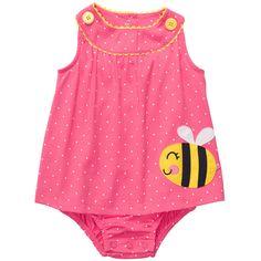 1-Piece Knit Sunsuit | Baby Girl One-Piece