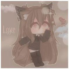 Anime Girl Cute, Anime Art Girl, Anime Kawaii, Anime Chibi, Neko, Wolf Children, Kawaii Doodles, Life Pictures, Cute Anime Character