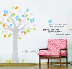 Do You Hear The Leaves Rustle Wall Sticker