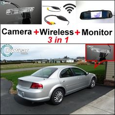 68.48$  Watch here - http://ali9uk.worldwells.pw/go.php?t=32468904464 - 3 in1 Special Rear View Camera + Wireless Receiver + Mirror Monitor Bcakup Parking System For Chrysler Sebring 2007~2014