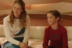 Two new photos from Supergirl show off the young Superman character that will debut in next week's episode of the hit new series. Superman Actors, Supergirl Superman, Supergirl Season, Supergirl 2015, Melissa Benoist, Super Girls, Girls Be Like, Superman Merchandise, David Harewood