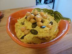 Homemade Pumpkin Hummus Recipe