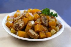 Super-Special Chicken Sausage 'n Squash Pack Recipe   Hungry Girl