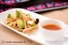 Sopa de tortilla | La Cocina Mexicana de Pily