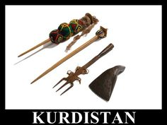 Kurdistan Spindles -with temari balls for weights, wow! Why didn't I think of that?