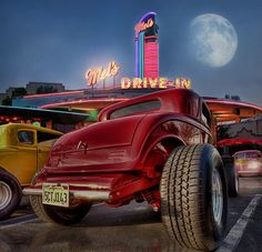 Summer Cruisin At Mels Diner .... by Rat Rod Studios, via Flickr