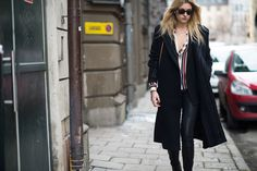 Stockholm Style - Stockholm Fashion Week Fall 2014 Street Style Day 2.-Wmag