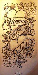 Tony Ciavarro - 101 half sleeves Source by Mum And Dad Tattoos, Mom Tattoos, Future Tattoos, Body Art Tattoos, Turtle Tattoos, Tribal Tattoos, Stencils Tatuagem, Tattoo Stencils, Tattoo Sketches