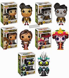 TOYSREVIL: The Book of Life: Pop! Vinyls & The Legacy Collection from Funko