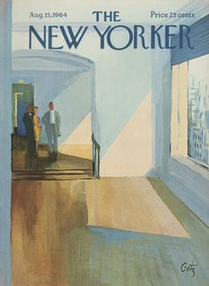 The New Yorker - Saturday, August 15, 1964 - Issue # 2061 - Vol. 40 - N° 26 - Cover by : Arthur Getz