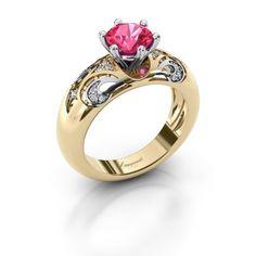 Maya ring - Ontwerp je eigen ring online - DiamondsbyMe