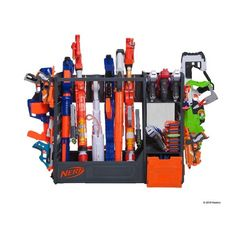 NERF Elite Blaster Rack : Target Best Picture For Nerf Gun Storage tub For Your Taste You are lookin