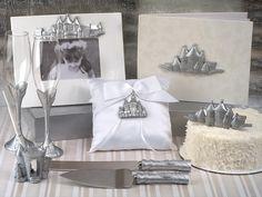 Deluxe 7 PC Silver Castle Set